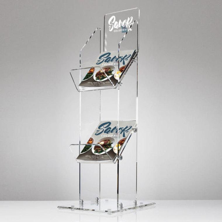 Thumb savor acrylic displays