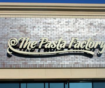 Pasta factory exterior