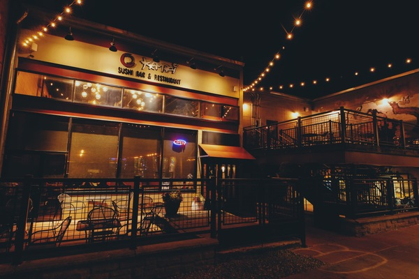 Kampai is located in Alley A, a hip, romantic area of The District in downtown Columbia, MO