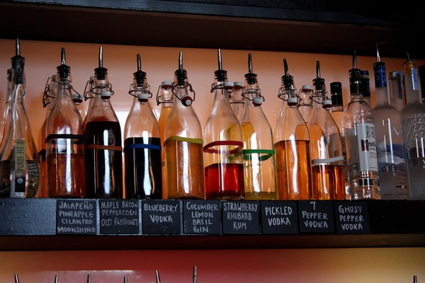 Room 38 in Columbia, Mo offers delicious cocktails and appetizers.