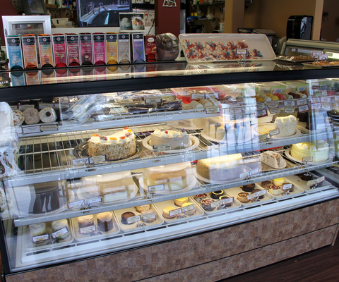 Fresh made treats are available every day at U Knead Sweets