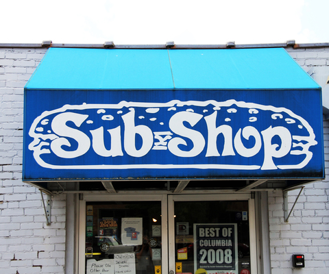 Sub Shop has four locations in Columbia, MO