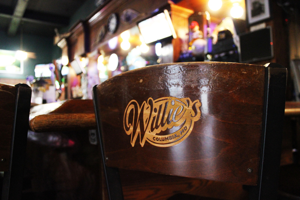 Willie's Pub in Columbia, MO is a local favorite