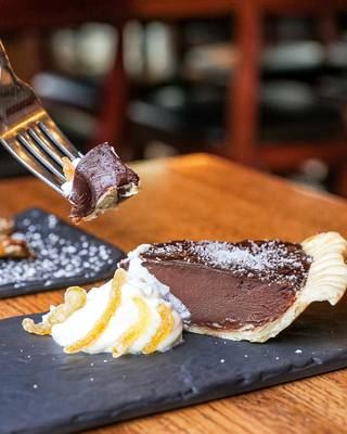 Glenn's Café's offers a variety of delicious entrees and desserts.