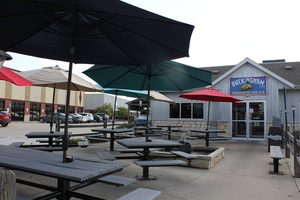 With outdoor seating and plenty of food to go around, there is no better place to gather than Buckingham Smokinghouse in Columbia, Mo.