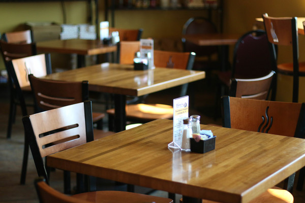 There is seating inside of hoss's as well as a deli so guests can eat freshly prepared food while they shop