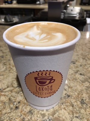 Sip on a latte or enjoy a frappe with Lakota Coffee in Columbia, Mo.