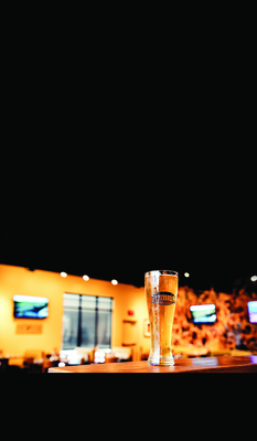Enjoy an ice cold beer while watching your favorite sports teams in Columbia, Mo.