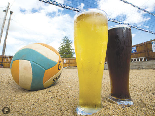 Columbia, Mo's first bar with a sand volleyball court, The Dive is a great place to enjoy ice cold beverages while enjoying sports with friends.