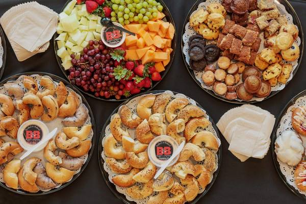 Cater your next event with B&B bagel's catering services in Columbia, Mo.