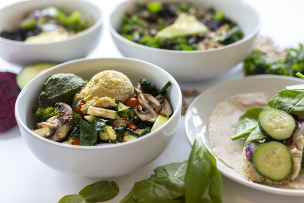With a variety of healthy salads and bowl options there is plenty to choose from at Nourish Cafe & Market.