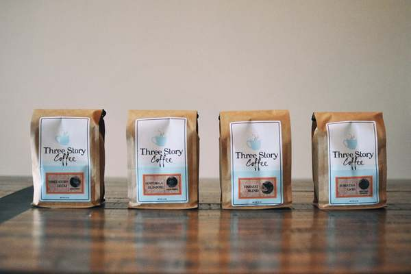 Try Three Stories Coffee in Jefferson City and Columbia, Mo today.