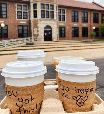 Sharing love and inspiration with every coffee at Love Coffee in Columbia, Mo.