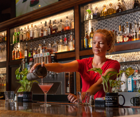 Enjoy a late night happy hour at Addison's in downtown Columbia, Mo.